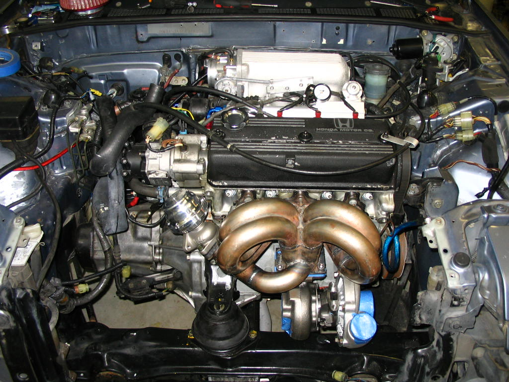 update: turbo accord project